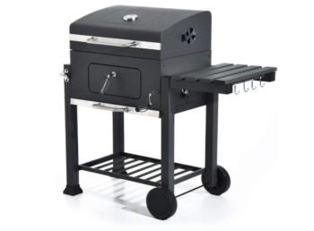 NX Portable Charcoal Grill BBQ Trolley