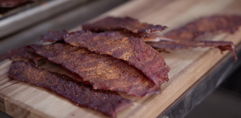 Smoked Honey BBQ Beef Jerky Recipe