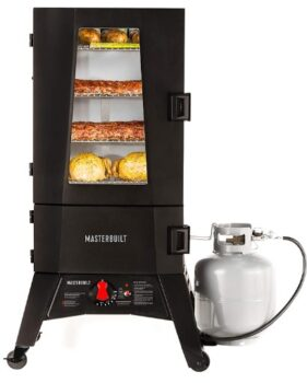 Masterbuilt MB20051316 Propane Smoker with Thermostat Control